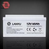 Batterie solaire de vente chaude d'AGM pour des batteries de gel du système solaire 12V 60ah VRLA