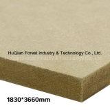 A base de madeira do MDF do mercado de Irã projeta o tamanho 1830X3660X12mm E2 com preço barato