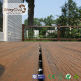 Decking composto do exterior da co-extrusão do fabricante WPC de Guangdong