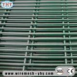 Anti-Monter le PVC enduit et a galvanisé la frontière de sécurité soudée de treillis métallique
