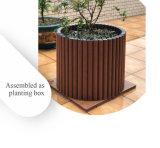 Umweltfreundliche Lebendmasse-zusammengesetzter haltbarer einfacher Montage-funktionellzaun und pflanzen Kasten
