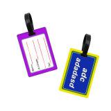 personalizado personalizada Tags de bagagem em PVC maleável