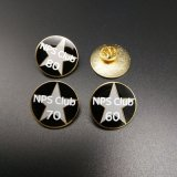 Personalizada Profesional UK Metal Soft enamel pasadores con broche de mariposa (BG53)