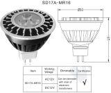 MR16 4W à intensité variable CREE LED Spotlight de remplacement pour l'éclairage extérieur