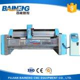 Baineng Automatical 4 оси ЧПУ стекло гравировка / полировка/кромочного материала в машину