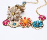 De recentste Halsbanden van de Hars van de Legering van Bloemen, de Juwelen van de Manier