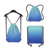 Les achats légers de natation folâtrent le sac à dos fondamental pliable de cordon de gymnastique