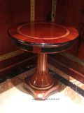 Il legno solido di alto rivestimento scuro di lucentezza 0068 ha coperto il sofà reale classico dell'impiallacciatura di lusso