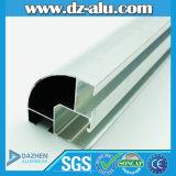 Profil en aluminium de la Thaïlande avec le fini argenté en bronze anodisé de moulin