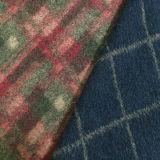 Il tessuto di lavoro a maglia delle lane del jacquard, ratiera ha lavorato a maglia il tessuto del tweed, tessuto mescolato acrilico del poliestere delle lane
