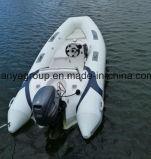 Barco inflable semi rígido de Liya los 3.8m Hypalon/PVC