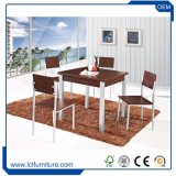 Exteriores Polywood MDF mesa y silla de comedor mesa de café