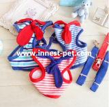 Harnais en nylon de crabot de Salilor de harnais de crabot avec la chaîne facile de promenade