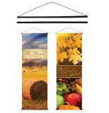Banners colgantes vertical por digital por sublimación de la impresión, tintas UV