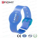 Wristband esperto legível do PVC do Lf para a identificação do bebê do hospital