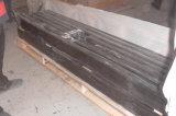 Granito nero puro nero della Cina/assoluto cinese superiore dello Shanxi per l'hotel Decordecoration/priorità bassa nera/controsoffitto e pavimentazione della TV