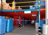 Nueva estructura de acero industrial del suelo de entresuelo del almacén