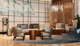 Mobiliario moderno Hotel, mesa de café de lado la tabla final