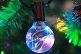 [غ40] فناء كرة أرضيّة خيط [بولب ليغت] مع بصيلة واضحة لأنّ خارجيّ خيط إنارة, زخرفة ضوء
