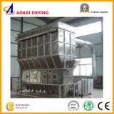 Máquina de secagem de base fluida de operação contínua para materiais do grânulo
