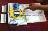 Faser-Optikendpunkt-Verteilerkasten der China-Fabrik-wasserdichter im Freien 16 Kern-FTTH