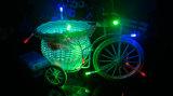 Lichten van de Fee van het waterdichte LEIDENE Koord van de Batterij de Lichte Batterij In werking gestelde