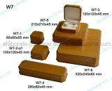 caixa de presente de madeira personalizada forma do vinho/jóia/caso do armazenamento