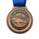Alliage de zinc personnalisée chaud Gold/Silver Awards Médaille pour Souvenir (MD05-B)