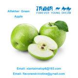 Sabores verdes vendedores calientes para la cachimba en Arabia, sabores de Alfakher Apple del tabaco de Shisha