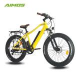 Bici elettrica della gomma grassa della neve con il motore senza spazzola 250W