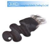 Encierro brasileño del cordón del pelo humano 3.5*4