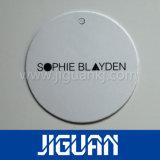 Nouveau Style Étiquette plastique épais de couleur de l'impression avec le trou