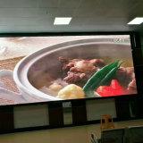 Il colore completo dell'interno P8 riparato installa la visualizzazione di LED fissata al muro dello schermo del segno di Digitahi di media di pubblicità