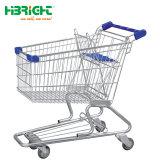 Металлические Оцинкованные магазинов передвижной тележке для сетей супермаркетов