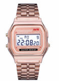 Form-Legierungs-Kasten-Uhr-Quarz-Uhr-preiswerte Armbanduhren (DC-463)