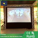 400 дюйм больших передних и задних быстро сложить проекционного экрана/портативный проектор экрана для отображения