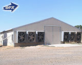 Het Huis van de Braadkip van het Huis van het Gevogelte van het Gebruik van de Kip van de Structuur van het staal/van het Landbouwbedrijf Chickend