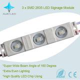 5 da garantia 1.08W 3LEDs SMD2835 anos de módulo do diodo emissor de luz com a microplaqueta de Epistar para sinais/Lightbox/letra de canaleta