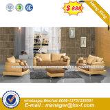 現代角のホームソファーの革居間の家具(HX-SN308)