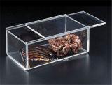 Boîtes de présentation acryliques claires faites sur commande