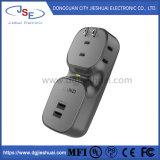 Быстрая зарядка розетки переменного тока с портами USB для мобильных телефонов