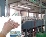 Guanto del lattice che tuffa riga linea di produzione del guanto del lattice macchinario