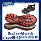 Vendita calda di ultimo di modo 2017 della spiaggia del sandalo disegno di Outsole