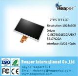 7 pouces Lvds Interface1024 * module de TFT LCD de 600 IPS