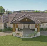 Lange Lebensdauer-haltbare Dach-Blatt-/bunter Stein-überzogene Dach-Fliese