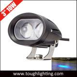 36V 10W de 3 pulgadas mancha azul LED luces de seguridad para la carretilla