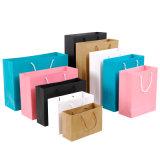 Sacco di carta impaccante della maniglia dell'imballaggio dell'elemento portante delle donne di modo