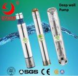 4 pouces de Openwell&Submersible verticale de la pompe de puits profond