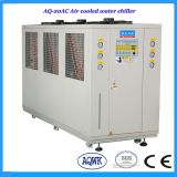 sistema industriale raffreddato aria di raffreddamento ad acqua del refrigeratore di acqua 55.44kw