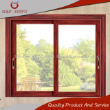 Finestra di sguardo di legno americana/finestra di scivolamento di alluminio